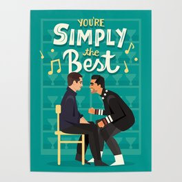 Simply the best Poster