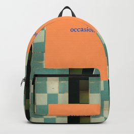 Remember to shower Backpack