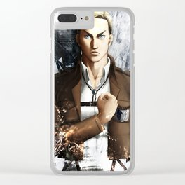 The commander Clear iPhone Case