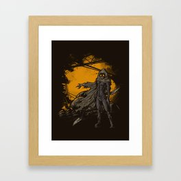 SPICE HARVESTER Framed Art Print