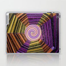 Celtic Spirals Laptop & iPad Skin