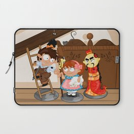 the shepherdess and the chimney sweep Laptop Sleeve
