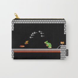 Mario Bowser Fight Carry-All Pouch