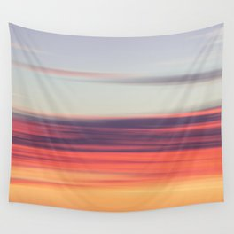 Abstract Sunrise Wall Tapestry