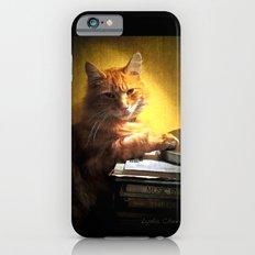 A romantic cat iPhone 6 Slim Case