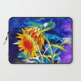 Sunflowers By Annie Zeno Laptop Sleeve