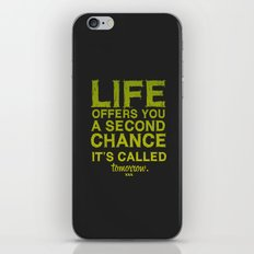 Second chance. iPhone & iPod Skin