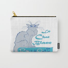 Le Chat Blanc Parody Vector Carry-All Pouch