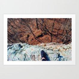 Over the Edge Art Print