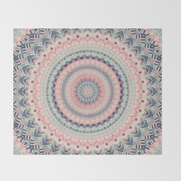 Mandala 515 Throw Blanket