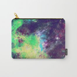 Green Galaxy Carry-All Pouch