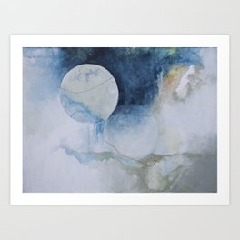 Two become One Art Print