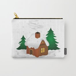 Winter scenery Carry-All Pouch