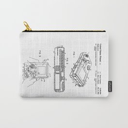 Gameboy Patent Carry-All Pouch