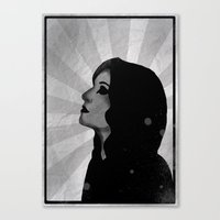 madonna Canvas Prints featuring Madonna by ODDITY