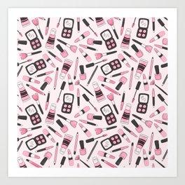 Make Me Up Art Print