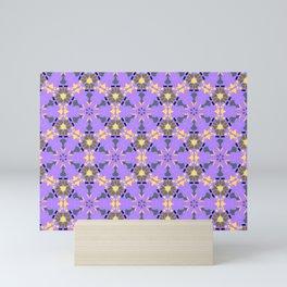 Enlighten Geomtric Name Pattern Mini Art Print