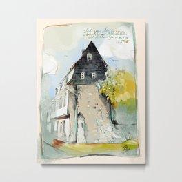 Bad Kreuznach historical 2 Metal Print