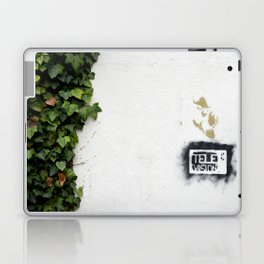Television versus nature Laptop & iPad Skin
