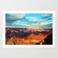 Grand Canyon - National Park, USA, America Art Print
