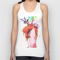 archan nair Tank Tops featuring Miere by Archan Nair