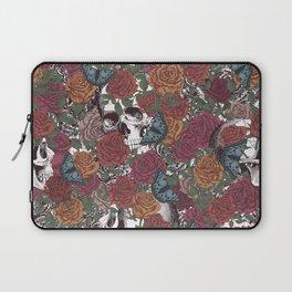Roses, Skulls and Butterflies Laptop Sleeve