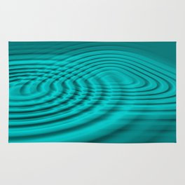 Pacific ocean water ripples Rug