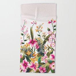 Flowers -a100 Beach Towel