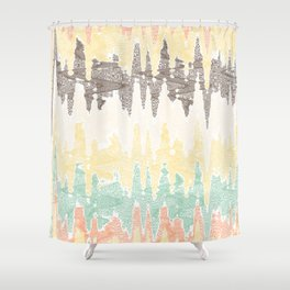 Digital painting Shower Curtain