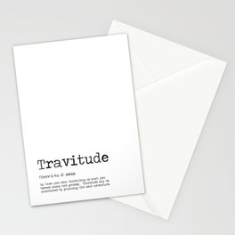 Travitude -Travelers Attitude Stationery Cards