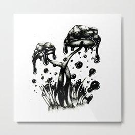 Poisonous Metal Print