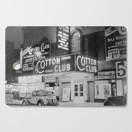 African American Harlem Renaissance Cotton Club Jazz Age Photograph Cutting Board