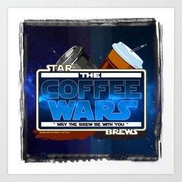 Star Brews - The Coffee Wars - Jeronimo Rubio Photography and Art 2016 Art Print