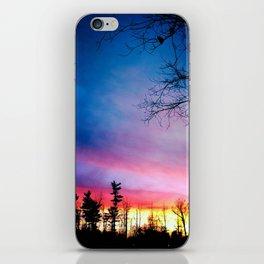Rainbow Sunset iPhone Skin