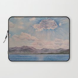Lake Tahoe After a Summer Storm Laptop Sleeve