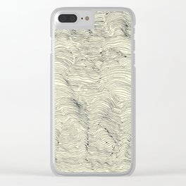 Drawing Humans Clear iPhone Case