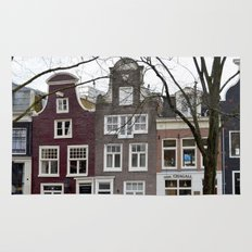 Amsterdam houses Rug