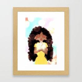 Soft & Sweet Framed Art Print