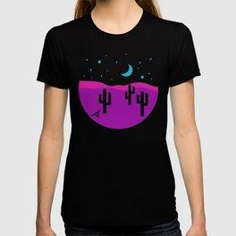 Modern Desert Cactus Scene #desert #cactus T-shirt