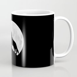 Howling Wolf - Moon Coffee Mug