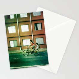 bi cycle love Stationery Cards