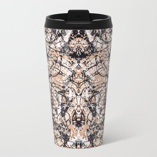 Reflecting Pollock Metal Travel Mug