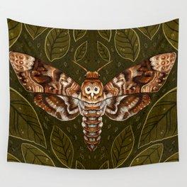 Deaths-Head Moth Wall Tapestry