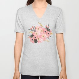 Night Meadow Unisex V-Neck