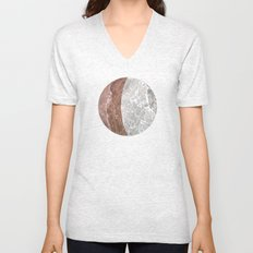 Planetary Bodies - Crescent Rock Unisex V-Neck