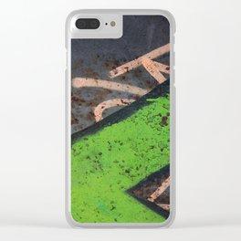 Rustin' piece Clear iPhone Case