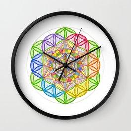 Hidden Jewel - The Rainbow Tribe Collection Wall Clock