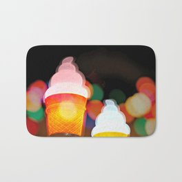 All the pretty lights - V Bath Mat