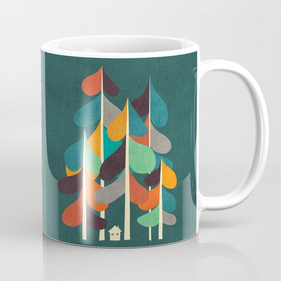 Cabin in the woods Mug
