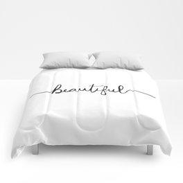Modern and Elegant Hand Drawn Beautiful Comforters